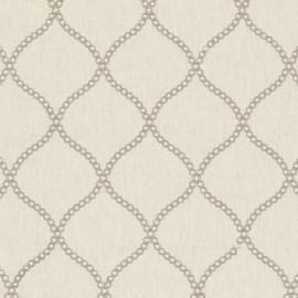 ♥ Coupon 150 cm X 140 cm ♥ Fabric Ribble Valley Sawley Natural