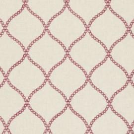 ♥ Coupon 150 cm X 140 cm ♥ Fabric Ribble Valley Sawley Raspberry