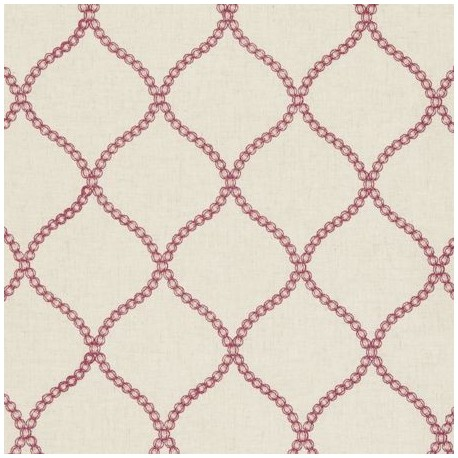 Fabric Ribble Valley Sawley Raspberry x 16cm