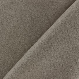 Patou fabric - dark beige x 10cm