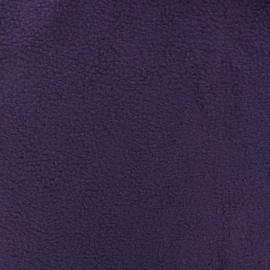 ♥ Coupon 30 cm X 150 cm ♥  Tissu Polaire violet foncé
