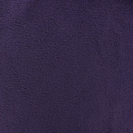 Polar Fabric - dark purple x 10cm