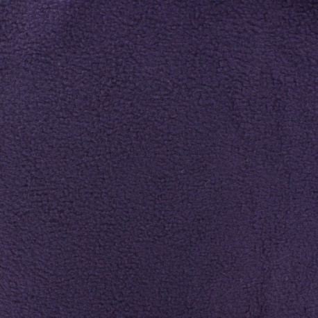 Tissu Polaire viole foncé x10cm