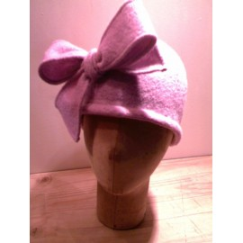 """Adama"" Small Hat sewing pattern for adults from ManonHandco - pink"