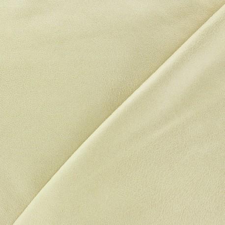 Simili cuir souple Clara beige x 10cm
