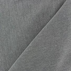 ♥ Coupon tissu 100 cm X 140 cm ♥ tailleur Albias Gris clair