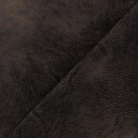 Simili cuir souple Zaina Marron x 10cm