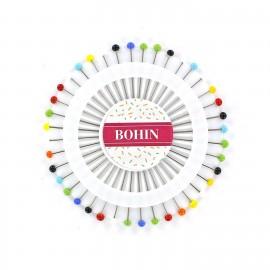 Rosace de 40 épingles multicolores BOHIN