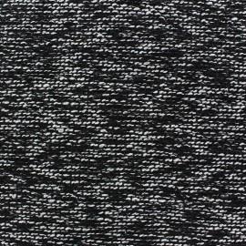 Tissu Tweed Seppo Noir x 10cm