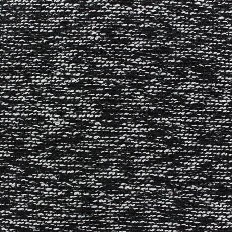 Fabric Tweed Seppo Noir x 10cm