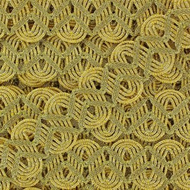 Brocade Serpentine braid trimming x 50cm - golden