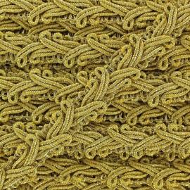 Brocarde Rococo braid trimming x 50cm - golden