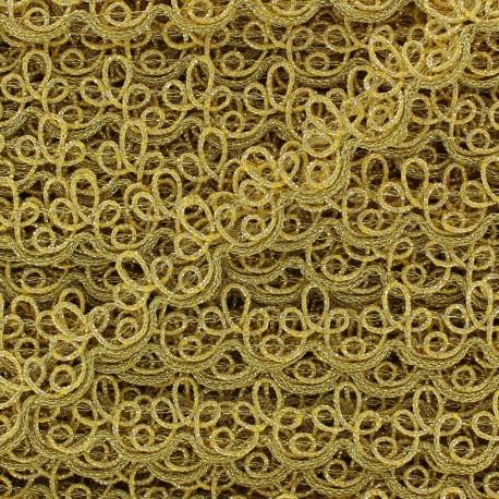 Brocarde Lily braid trimming 1,5cm x 50cm - golden