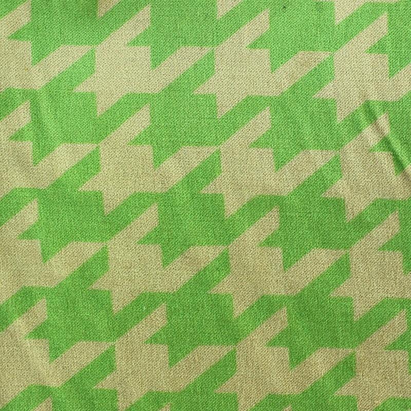 Tissus pas cher 100 coton tissu velours ras pied de coq anis fond sable - Tissus velours pas cher ...