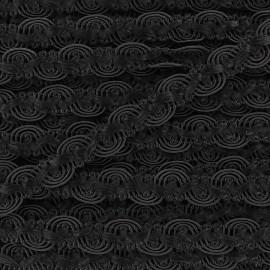 Galon brocart serpentine entrelacée cuivre x 50cm