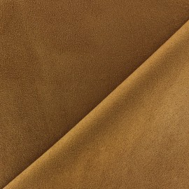 ♥ Only one piece 20 cm X 146 cm ♥ Suede Fabric - Volige Chocolate