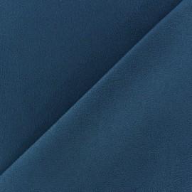 Tissu Suédine Volige gris bleu x 10cm