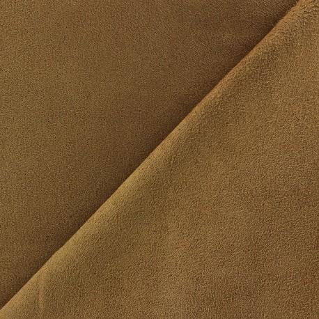 Suede Fabric - Volige Sand x 10cm