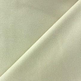 Tissu Suédine Volige écru x 10cm