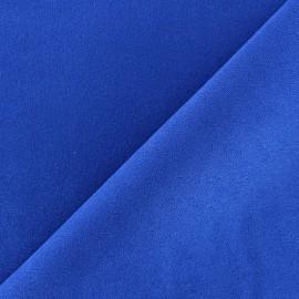 Tissu Suédine Volige Bleu roy x 10cm
