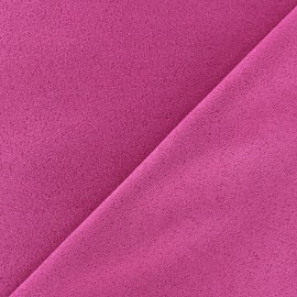 Suede Fabric - Volige Fuchsia x 10cm
