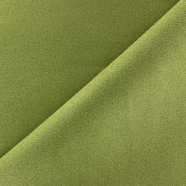 Suede Fabric - Volige Lime x 10cm