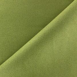 Tissu Suédine Volige Anis x 10cm
