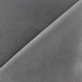 Tissu Suédine Volige Gris x 10cm