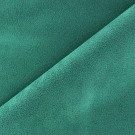 Suede Fabric - Volige Lagoon Green x 10cm