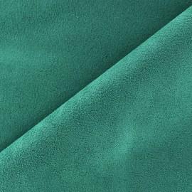 Tissu Suédine Volige vert lagon x 10cm