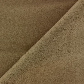 Suede Fabric - Volige Light Brown x 10cm