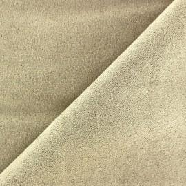 Suede Fabric - Volige Beige x 10cm