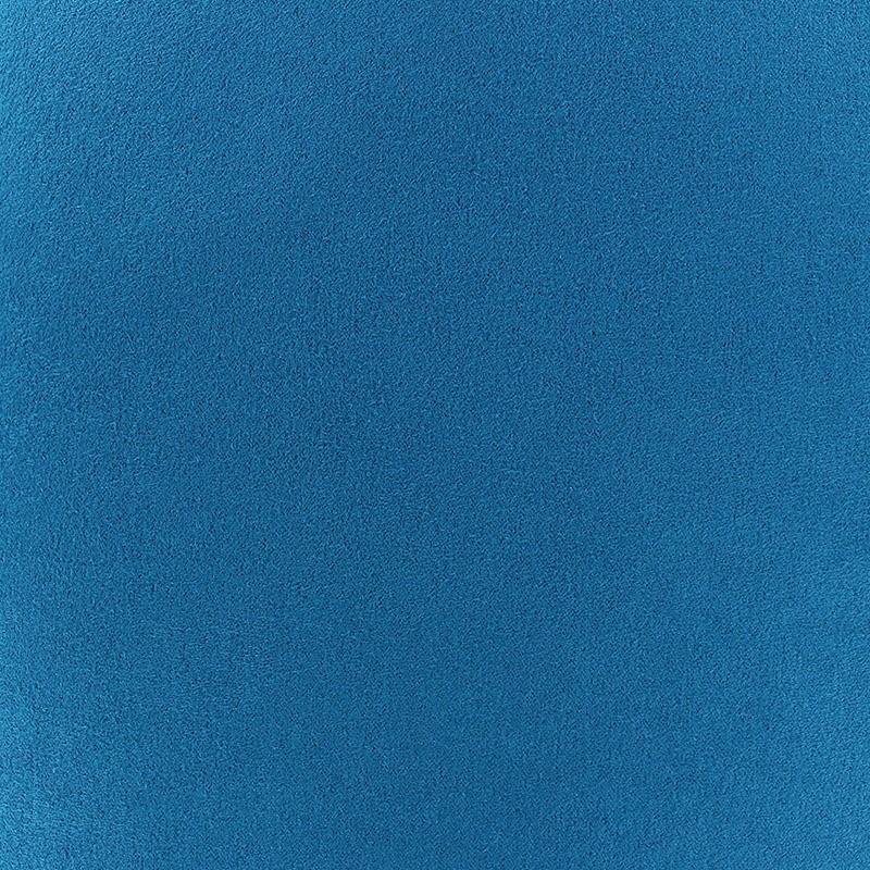 tissu su dine volige bleu canard x 10cm ma petite mercerie. Black Bedroom Furniture Sets. Home Design Ideas