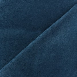 Tissu Suédine Volige Bleu celeste x 10cm