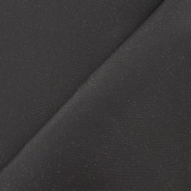 Imitation leather svaro - coal x 10cm