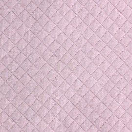 Quilted Jersey Fabric France duval - Pink x 10cm