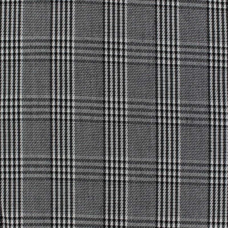 tissu classic prince de galle v1 noir et blanc x 10cm ma. Black Bedroom Furniture Sets. Home Design Ideas