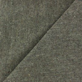 Chambray wool fabric - brown  x 10cm
