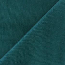 Melda Milleraies velvet fabric - duck blue 200gr/ml x10cm