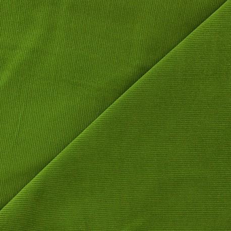 Melda Milleraies velvet fabric - moss green 200gr/ml x10cm