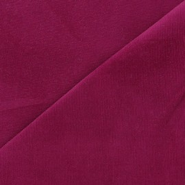 Melda Milleraies velvet fabric - dark purple 200gr/ml x10cm