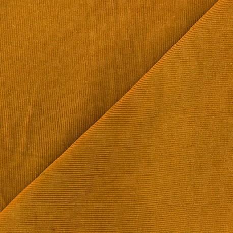Melda Milleraies velvet fabric - ochre 200gr/ml x10cm
