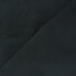Melda Milleraies velvet fabric - coal 200gr/ml x10cm