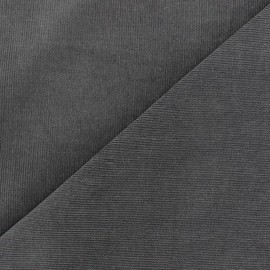 Melda Milleraies velvet fabric - grey 200gr/ml x10cm