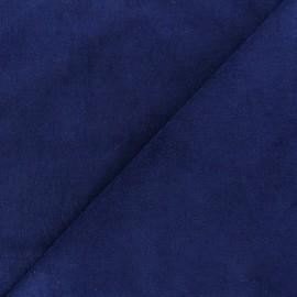 Tissu velours ras Melda Bleu roy x10cm