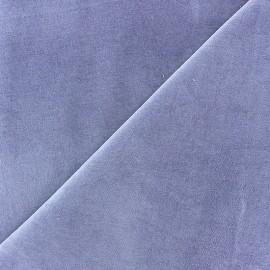 Short Melda velvet fabric - parma x10cm