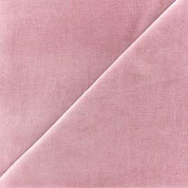 Tissu velours ras Melda Barbapapa x10cm