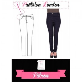 "Patron Pantalon ""Le pantalon London"""