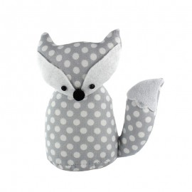Fox pincushion Little white dots - paule taupe