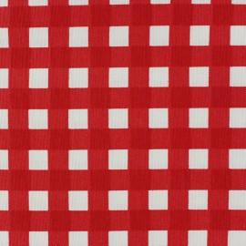 Tissu toile de coton Carola Carmin x 10cm